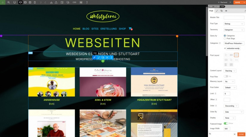 Webstylerei_Home_mit_Page_Builder_an
