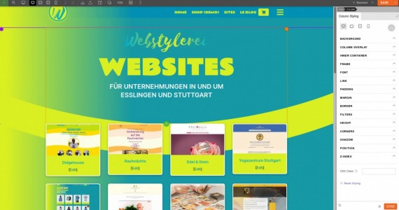 Webstylerei_Home_with_Themify_Builder_1