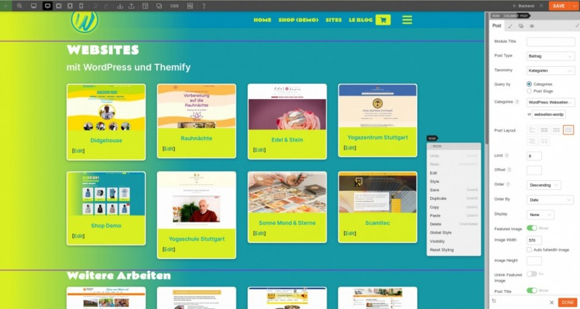 Webstylerei_Home_with_Themify_Builder_2