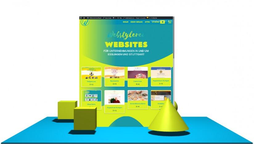 Webstylerei_Startseite_in_3D_WebGL_Scene