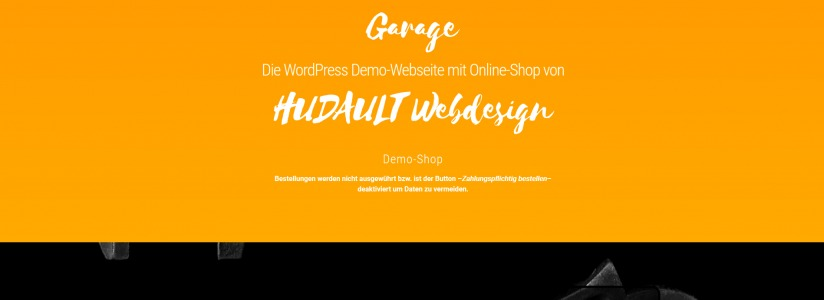 hudault_online_shop_demo_screenshot