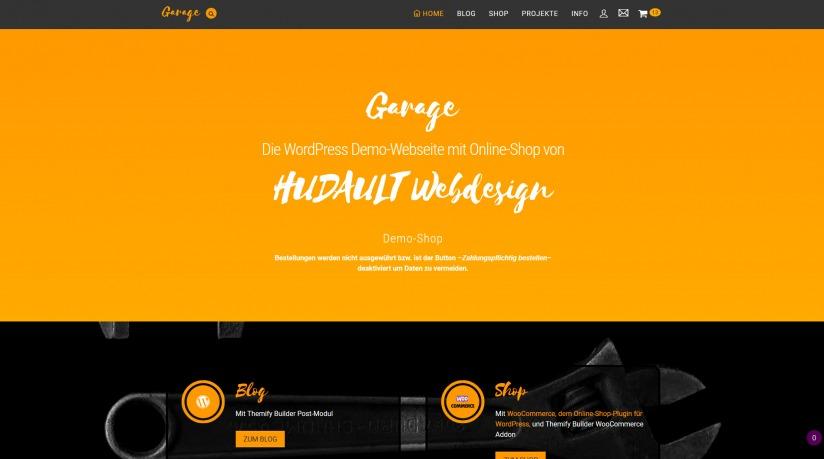 hudault_online_shop_demo_screenshot