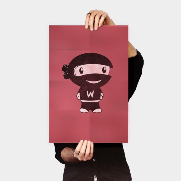 Poster Woo Ninja